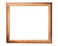 被镀青铜的框架照片 库存图片