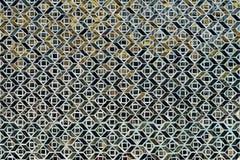 被镶嵌的五彩玻璃 库存照片
