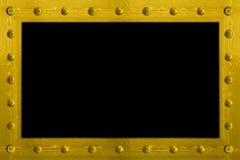 被闩上的框架金属 免版税库存照片