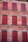 被阻止的公寓 库存照片