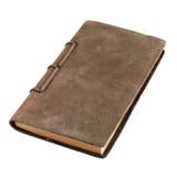 被限制的日记帐皮革 库存图片