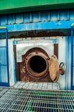 被限制的隧道产业 免版税库存图片