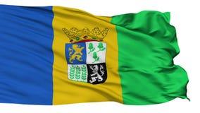 被隔绝的卡斯特里克姆市旗子,荷兰 皇族释放例证
