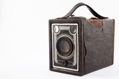 被隔绝的古色古香的照相机 库存图片