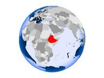 被隔绝的地球的埃塞俄比亚 库存例证