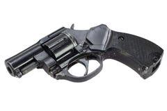 被隔绝的左轮手枪 免版税库存图片