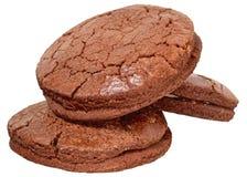 被隔绝的开胃巧克力曲奇饼 库存图片
