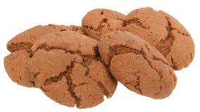 被隔绝的开胃巧克力曲奇饼 图库摄影