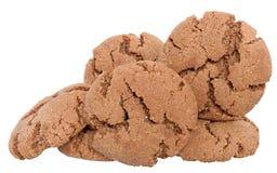 被隔绝的开胃巧克力曲奇饼 免版税库存图片