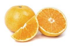 被隔绝的橙色果子 库存图片