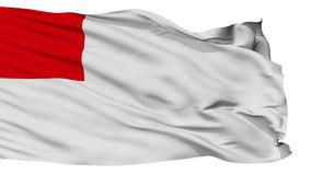 被隔绝的毕尔巴鄂市旗子,西班牙 影视素材