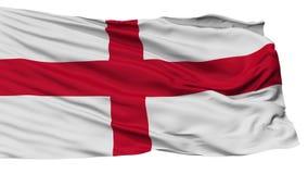 被隔绝的热那亚市旗子,意大利 皇族释放例证