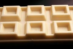 被隔绝的白色巧克力 库存照片