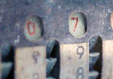 被隔绝的葡萄酒指南加法器- 7 免版税库存图片