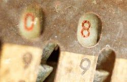 被隔绝的葡萄酒指南加法器- 8 免版税图库摄影