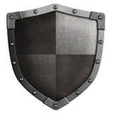 被隔绝的中世纪盾3d例证 免版税图库摄影