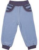 被隔绝的儿童sweatpants 免版税库存照片