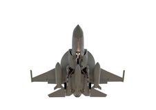 被隔绝的军用喷气机 免版税图库摄影