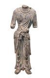 被隔绝的古老中国雕象。 免版税库存照片