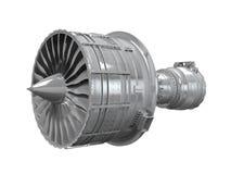 被隔绝的喷气机引擎 免版税库存图片