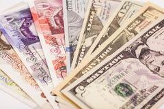 被隔绝的国际货币 免版税库存照片