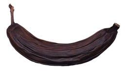 被隔绝的坏香蕉 库存照片