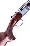 被隔绝的垂直的猎枪细节 库存照片
