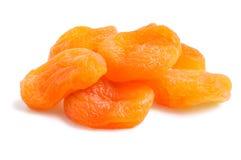 被隔绝的堆杏干 库存图片