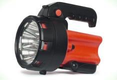 被隔绝的塑料LED火炬 免版税库存照片