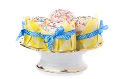 被隔绝的复活节蛋糕 免版税库存图片