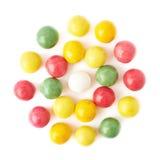 被隔绝的多个口香糖球 免版税库存照片