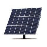 被隔绝的太阳电池板 免版税库存图片