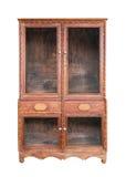 被隔绝的家具木头 库存照片