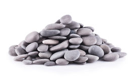 被隔绝的小组石头 库存照片