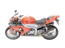 被隔绝的强有力的sportbike 免版税库存图片