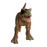 被隔绝的恐龙玩具 库存照片