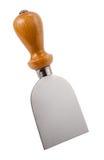 被隔绝的意大利乳酪刀子 库存图片