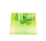 被隔绝的手工制造肥皂 免版税库存图片