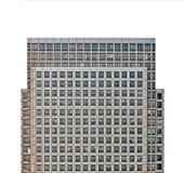 被隔绝的摩天大楼 免版税库存照片