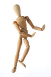 被隔绝的时装模特老木假的跳舞泰国样式 库存图片
