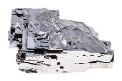 被隔绝的未加工的方铅矿石头 库存图片