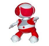 被隔绝的机器人玩具 免版税库存图片