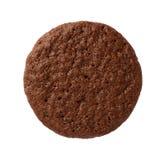 被隔绝的果仁巧克力曲奇饼 免版税库存图片