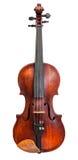被隔绝的标准大型小提琴正面图  免版税库存照片