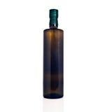 被隔绝的橄榄油瓶 图库摄影