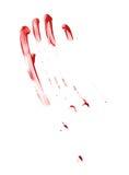 被隔绝的油漆污点 免版税图库摄影