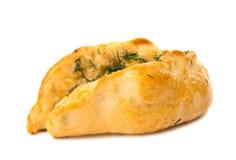 被隔绝的油酥点心小圆面包 库存图片