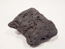 被隔绝的火山岩 免版税库存照片