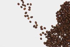 被隔绝的烤咖啡 免版税库存图片