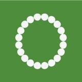 被隔绝的珍珠镯子 库存图片